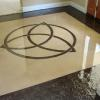 Stained overlay in concrete - Photo courtesy Chris Swanson Colour